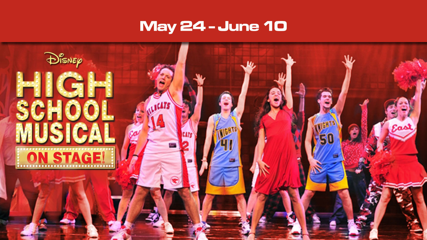 High School Musical On-Stage North Canton Playhouse May-June 2018